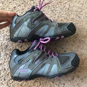Hi Tec girl size 2 waterproof hiking shoes